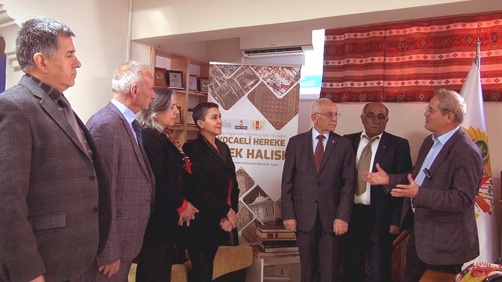 Türkiye Emekliler Derneği Hereke İpek Halısı Hakkında Konuştu