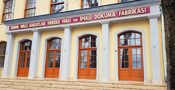 Hereke İpek Halı Fabrikası'na Tarihi Ziyaret