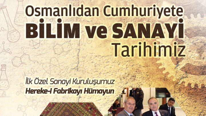 Osmanlıdan Cumhuriyete Bilim ve Sanayi Tarihimiz